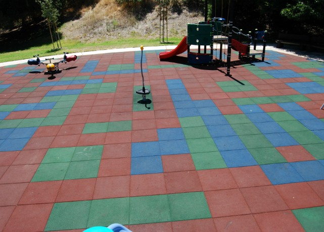 Harmful Chemicals In Artificial Turf Playground Image