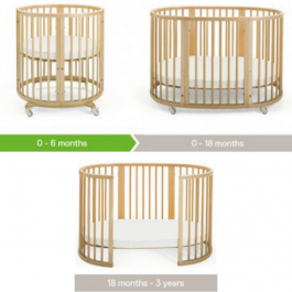 Stokke Sleepi System With Organic Mattress
