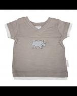 Rhino V-Neck Tee, Savanah