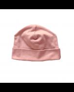 Organic Pima Cotton Beanie, Dark Pink