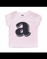 Alphabet Shirt, Pink