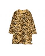 Mini Rodini Basic Leopard Long Sleeve Dress