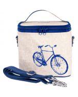 Blue Bicycle Large Cooler Bag