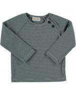 Blue Striped Long Sleeve T-Shirt