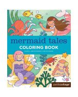 Coloring Book, Mermaid Tales