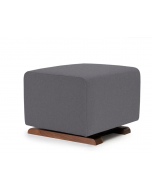 Pebble Grey Microfiber, Walnut Base