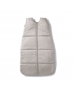 Organic Cotton Quilted Sleep Sack, Pale Grey