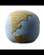Hand Crochet Globe Rattle by Tane