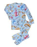 Dragons Love Tacos 2 Long Sleeve Pajama Set