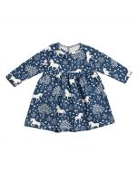 Navy Magical Forest Dress, Toddler
