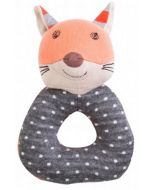 Frenchy Fox Soft Rattle