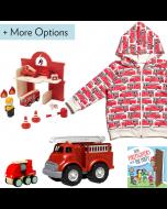 Fire Truck Gift Set