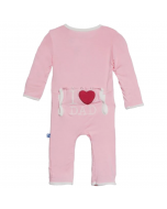 KicKee Pants I Love Dad Lotus Coverall