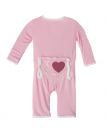 KicKee Pants I Love Mom Lotus Coverall