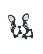 Boston Terrier Silicone Teether