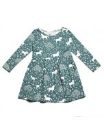Madison Dress, Magical Forest Teal