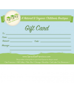 Gift Card, by Mail