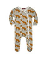 Long Sleeve Fox Footed Romper