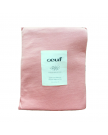 Organic Pima Cotton Changing Pad Cover, Dark Pink