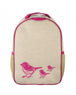Pink Birds Toddler Backpack
