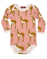 Deer Long Sleeve Bodysuit