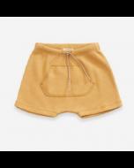 Organic Cotton Shorts with Kangaroo Pocket