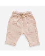Organic Cotton Trousers, Sand