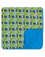 KicKee Pants Amazon Houses Toddler Blanket