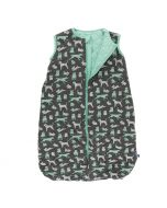 KicKee Pants Quilted Sleeping Bag Stone Animals and Glass