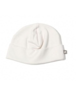 Organic Pima Cotton Beanie, White