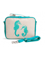 Aqua Seahorses Lunch Box