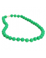 Chewbeads Jane Necklace, Emerald Green