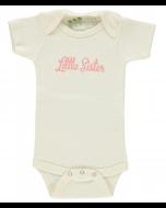 Little Sister Short Sleeve Bodysuit or Lap Tee