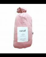 Organic Pima Cotton Crib Sheet, Dark Pink