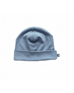 Organic Pima Cotton Beanie, Citadel Blue