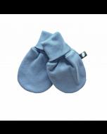 Organic Pima Cotton Baby Mittens, Citadel Blue