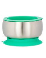 Stainless Steel Suction Baby Bowl & Air-Tight Lid