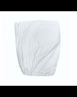 Sea Stripe Organic Fitted Crib Sheet