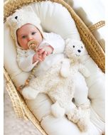 Sherpa Snuggle Bear Lovey by Under the Nile