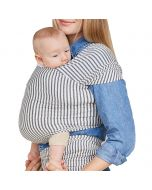 Solly Baby Wrap, Natural and Grey Stripe