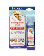 Badger Zinc Oxide Sunscreen Face Stick