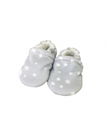 Moon and Stars Baby Slippers