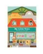 Sticker Activity Book, My Little Town