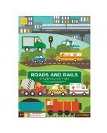 Sticker Activity Book, Roads and Rails
