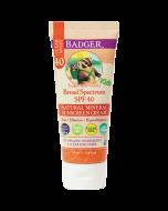 Badger Clear Zinc Sunscreen SPF 40