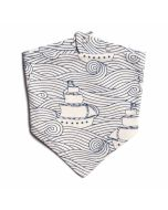 Kerchief Bib, High Seas
