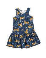Valencia Dress, Navy Wildcats