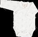 Anchor Long Sleeve Kimono Bodysuit