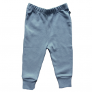 Organic Pima Cotton Leggings, Citadel Blue