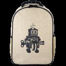 Grey Robot Toddler Backpack